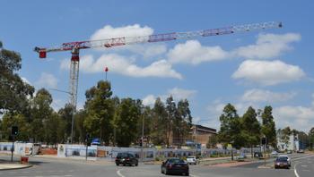 New crane 'UCrane' arrives at Westmead