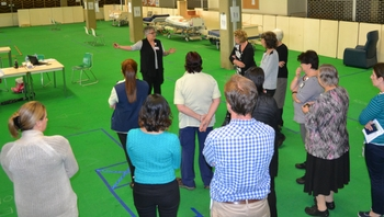 Future wards testing in planning walk-throughs