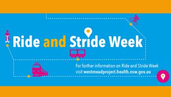 Ride and Stride Week 2017