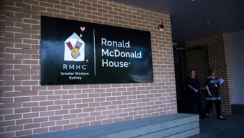 Visit the new Ronald Mcdonald House Westmead