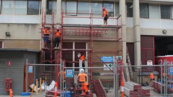 New construction hoist kicks off next phase of refurbishments